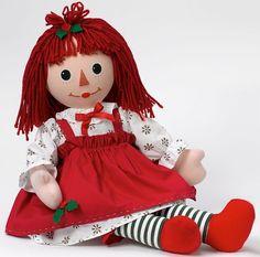 Raggedy Ann Holiday Cloth Doll | Madame Alexander |