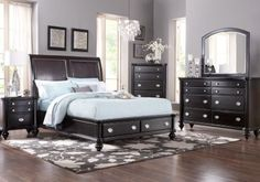 Shop for a Remington Place 5 Pc Queen Bedroom at Rooms To Go. Find Queen Bedroom Sets that will look great in your home and complement the rest of your furniture. Affordable Bedroom Sets, Bedroom Sets For Sale, King Size Bedroom Sets, Queen Bedroom, Home Bedroom, Affordable Bedding, Master Bedroom, Bedrooms, Bedroom Decor
