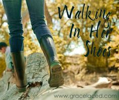 You are not the only one going through *something* today...Walking In Her Shoes   gracelaced.com