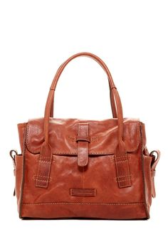 Artisan Flap Satchel by Frye on @HauteLook $240, down from $428. js