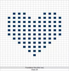 Patroon bubble heart