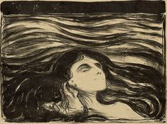 Edvard Munch, On the Waves of Love, 1897