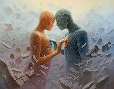 hearts | love | Magical surrealism | art | tomasz alen kopera