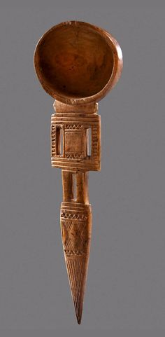 Africa   Wooden spoon from Somalia   ca. prior to 1964