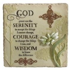 Al-Anon Serenity Prayer