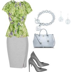 """spring work outfit"" by katie-corcoran-diamond on Polyvore"