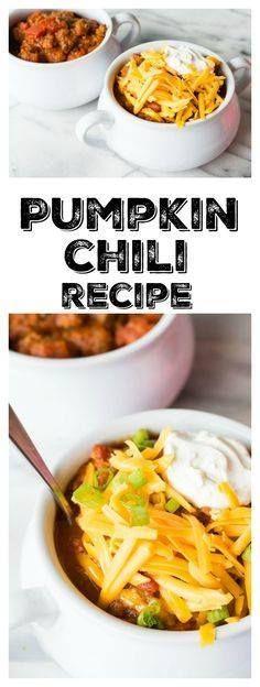 This Pumpkin Chili r This Pumpkin Chili recipe is perfect for...  This Pumpkin Chili r This Pumpkin Chili recipe is perfect for fall and also perfect for football Recipe : http://ift.tt/1hGiZgA And @ItsNutella  http://ift.tt/2v8iUYW