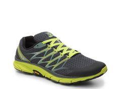 2e5883be3c781 Men s Men Merrell Bare Access Ultra Trail Running Shoe -Grey Lime - Grey