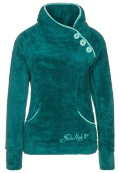 Köp Fresh Made Fleecetröja - Petrol för 399,00 kr (2014-10-24) fraktfritt på Zalando.se