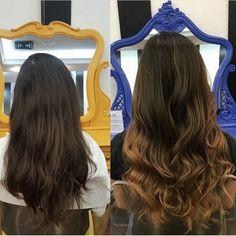 Como SP está cinza, a gente coloca cor e ilumina os cabelos 😍 Trabalho da equipe da @tayllabelarmina do Circus Pamplona 🎪 #circus #circuspamplona #colornocircus #colorhair #ombrehair #ombremel #beauty #beautysalon #beautyparlor
