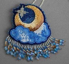 Луна в облаках | biser.info - всё о бисере и бисерном творчестве