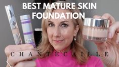 NEW FAVORITE FOUNDATION FOR MATURE SKIN + FULL FACE OF CHANTECAILLE! - YouTube Foundation For Mature Skin, Beautiful Friend, American Food, Full Face, Youtube, All American Food, Armenian Food, Youtubers, Youtube Movies