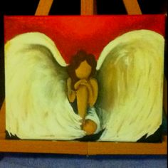 My favorite painting I made! My angel:)