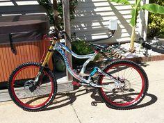 Norco team dh downhill bike Downhill Bike, Mountain Biking, Cycling, Bicycle, Biking, Bike, Bicycle Kick, Bicycling, Bicycles
