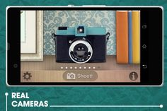 Retro Camera (android): give your pictures a retro effect.