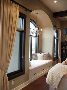 Relaxing Sundays ~   Check out the rest of this beautiful custom home by Veranda Estate Homes & Interiors     via   Houzz @ http://www.houzz.com/projects/6542/Lynx-Ridge-1