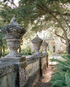 Vizcaya Garden and Museum. Built in the early 1900s as the European-style winter home for industrialist James Deering.