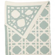 love this cane print throw from cococozy