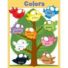 Learning Materials OWL PALS COLORS CHARTLET GR PK-1 Default Title JadeMoghul Preschool Classroom Decor, Owl Theme Classroom, Classroom Charts, Preschool Colors, Classroom Walls, Classroom Posters, Classroom Displays, Preschool Activities, Classroom Organization