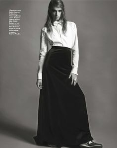 "Grazia France No.169 December 2012, ""Permis de Smoking"""