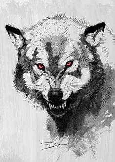 Wolf by dIk-ThePrince on deviantART