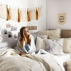 Shop Dormify for the hottest dorm room decorating ideas. You'll find stylish college products, unique room and apartment decor, and dorm bedding for all styles. #uniquehomedecor