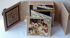 mini tutorial-Graphic 45 school house aperture box album,like @S'stitch