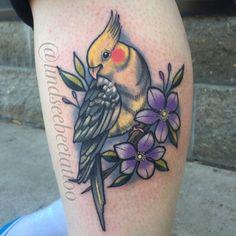 Cockatiel tattoo @lindseeboyer