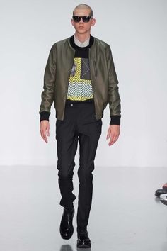 A. Sauvage Spring 2015 Menswear Collection - Vogue