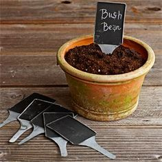 Chalkboard Plant Markers >> http://marketplace.diynetwork.com/styleboard/wishlistshow.aspx?wishlist=27350=EV_HOLIDAY_UNIQUE_GIFTS_MP=pinterest