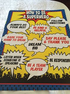 Even superheroes need rules