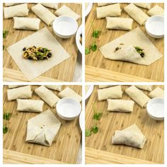 Weight Watchers Mexican Spring Rolls are flavorful tasty snacks and only have 1 Freestyle SmartPoint per spring roll. Perfect for dinner or an appetizer. Appetizer Dishes, Mexican Appetizers, Appetizer Recipes, Mexican Food Recipes, Italian Recipes, Chicken Spring Rolls, Weight Watchers Snacks, Dinner Menu, Yummy Snacks