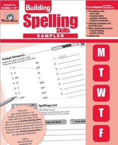 evan moor building spelling skills grade 6 pdf