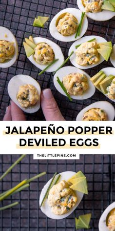 This ain't your mama's deviled egg recipe, this is the zesty, creamy, crunchy jalapeno popper deviled eggs recipe OF YOUR DREAMS! #jalapenopopperdeviledeggs #lowcarbjalapenodeviledeggs #deviledeggs #ketodeviledeggs #lowcarbdeviledeggs #ketoappetizers #lowcarbappetizers