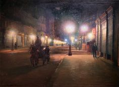 Ludwik de Laveaux - Paryż w nocy (1892-1893)