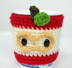 Apple Coffee Cup Cozy