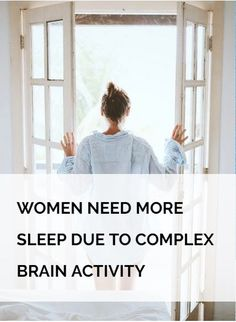 Male and female brains are not the same. But did you know women need more sleep because of how their brains work? Researchers found that women have more complex brain activity than men. Women are multi-taskers and use more regions of the brain during the day, resulting in a bigger need for sleep. A woman needs around 20 minutes more sleep than a man! Read more about psychology on zillionist.com!