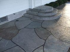Grand Flagstone | The Concrete Protector
