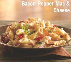 #Bacon-Pepper Mac & Cheese