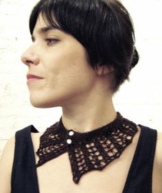 knit me a song: More neckwear - Free Pattern