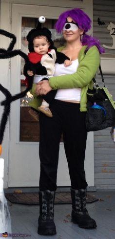 Futurama Leela and Nibbler Halloween Costume Idea