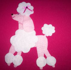 Poodle skirt appliqu stuff i 39 ve made pinterest for Poodle skirt applique template