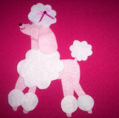 Poodle skirt appliqu stuff i 39 ve made pinterest for Poodle skirt applique template