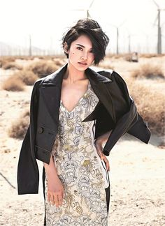 Rainie Yang is Edgy Fierce in Palms Springs for Marie Claire Taiwan | A Koala's Playground