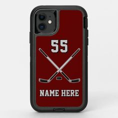 Super Tough OtterBox Defender Hockey Phone Case wild hockey, baseball mom, nhl hockey #hockeymoments #happy #mommylife, back to school, aesthetic wallpaper, y2k fashion Phone Cases Samsung Galaxy, Iphone Cases, Iphone 11, Apple Iphone, Quotes Girlfriend, Old Phone, Gifts For Boys, Protective Cases, Colorful Backgrounds