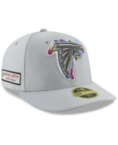40e4e88ba New Era Atlanta Falcons Crucial Catch Low Profile 59FIFTY Fitted Cap