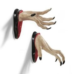 Set of Two Wall Mount Spooky Hands
