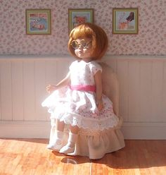 Betsy McCall doll dress Valentine's Day
