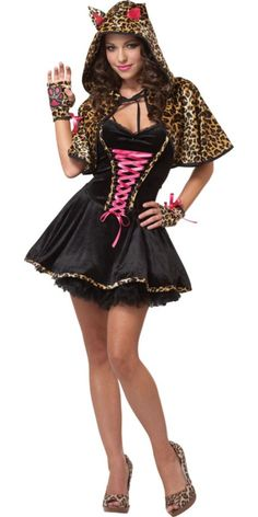 The Cats Meow Costume for Teen Girls - Halloween City