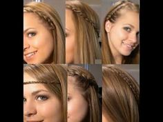 10 cool HairStyles in 10 minutes